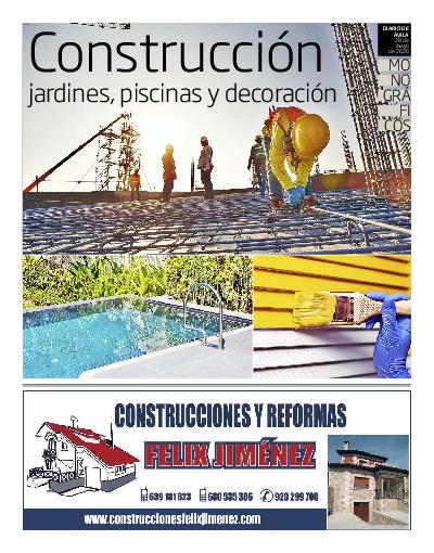 Construcción, jardines...