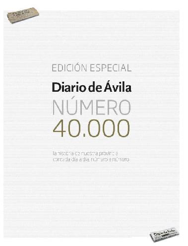 Edición número 40.000